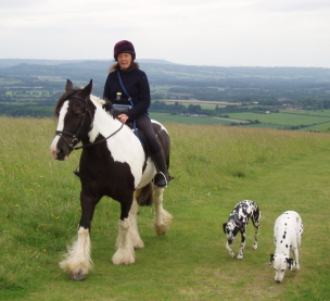 Riding on Harting Down
